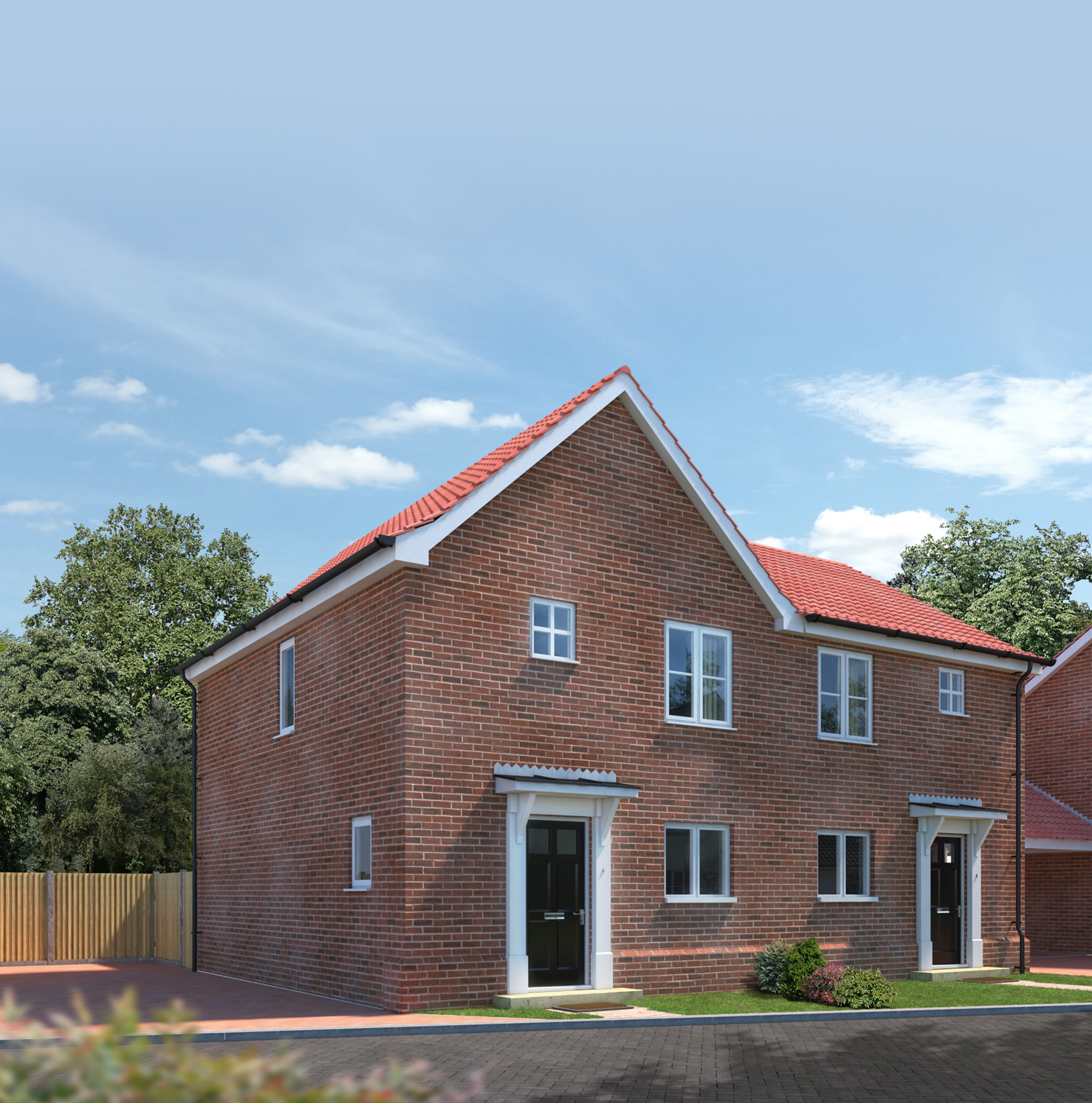 The Sandringham- Brick Fronted-Plots 26, 27, 30 and 31