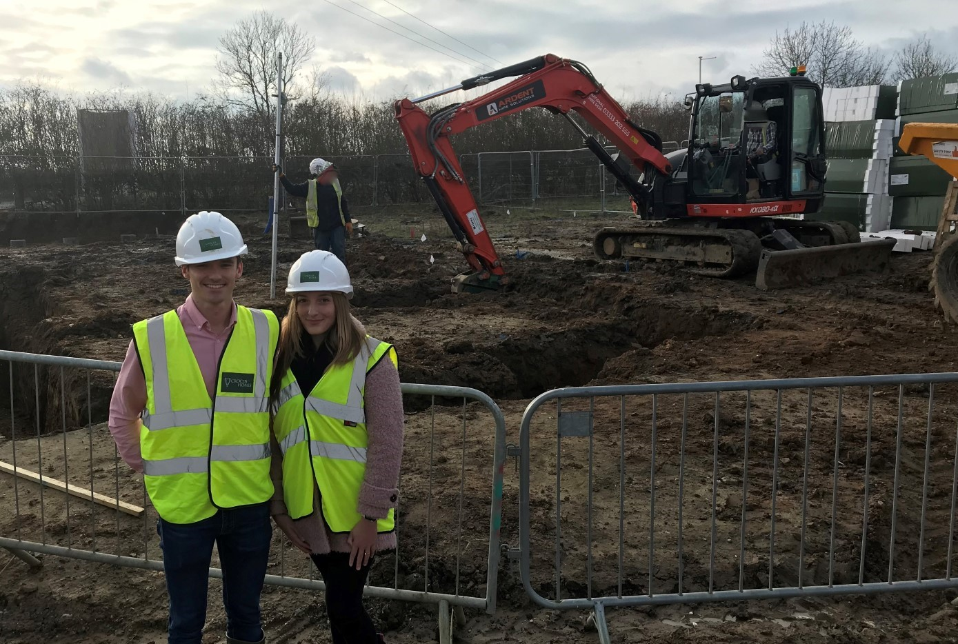 Crocus Homes Welcomes First Buyers to Site in Acle
