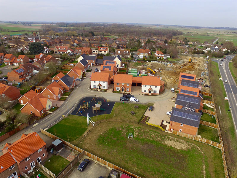 Phase 3 Homes at Springfield, Acle now underway