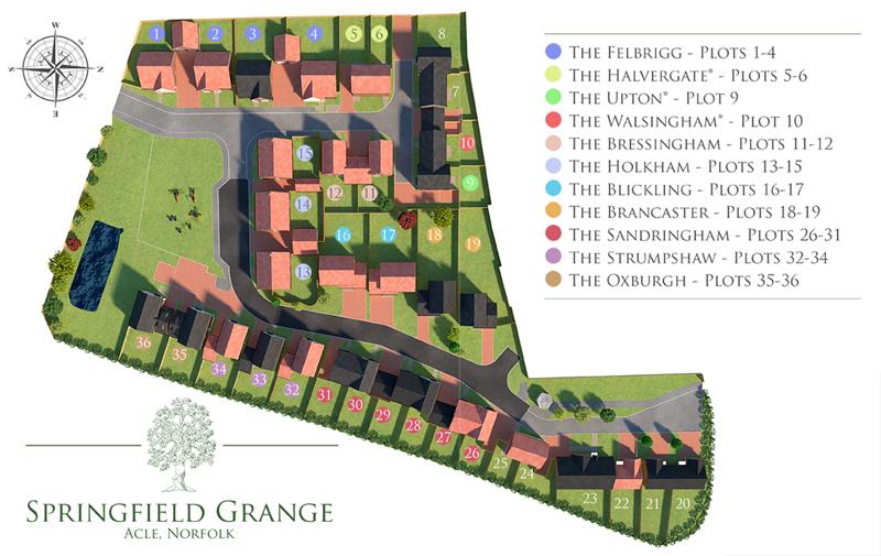 Springfield Grange - Site Plan